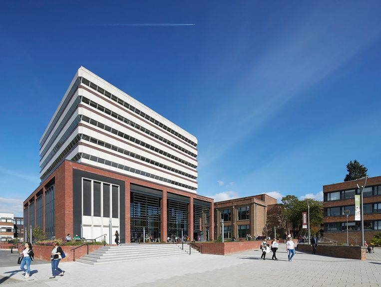 De Brynmor Jones-bibliotheek van University of Hull. Beeld Universal Images Group via Getty