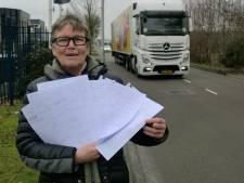 Leemstraat in Roosendaal in opstand tegen schrappen fietspad