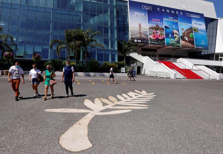 Cannes bereidt zich voor op de 74ste editie van het filmfestival. Beeld REUTERS