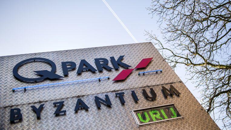 Een parkeergarage van Q-Park in Amsterdam. Beeld anp