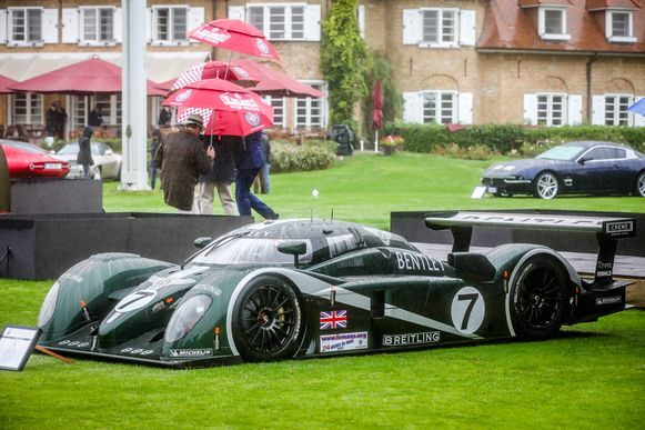 Bentley Le Mans 2003 winnaar.