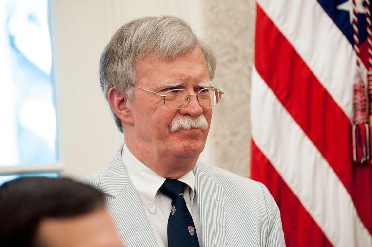 Nationaal Veiligheidsadviseur John Bolton. Beeld Photo News