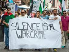 OM bekijkt beelden Haagse pro-Gaza-demonstratie