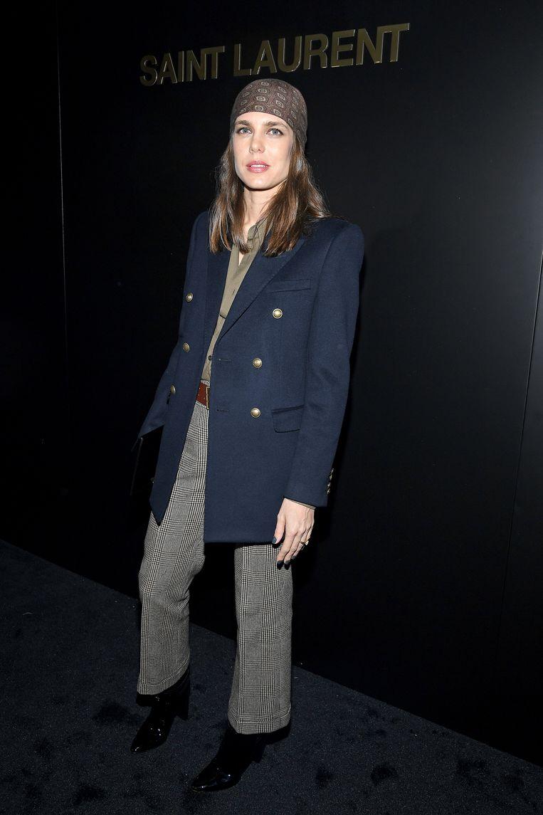 Tijdens Paris Fashion Week   Beeld Getty Images