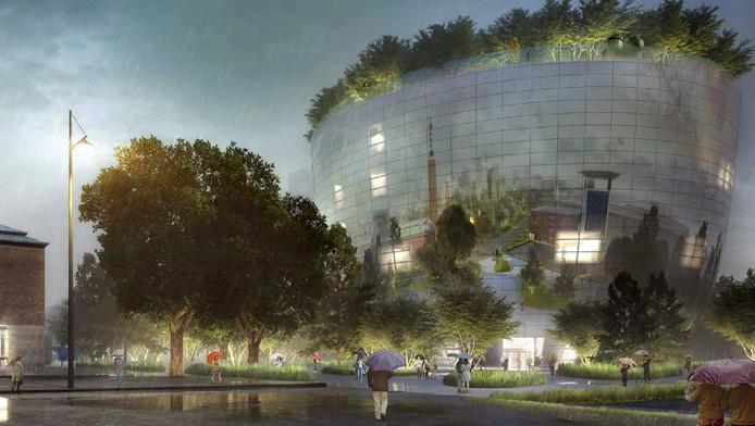 Het ontwerp van het Collectiegebouw