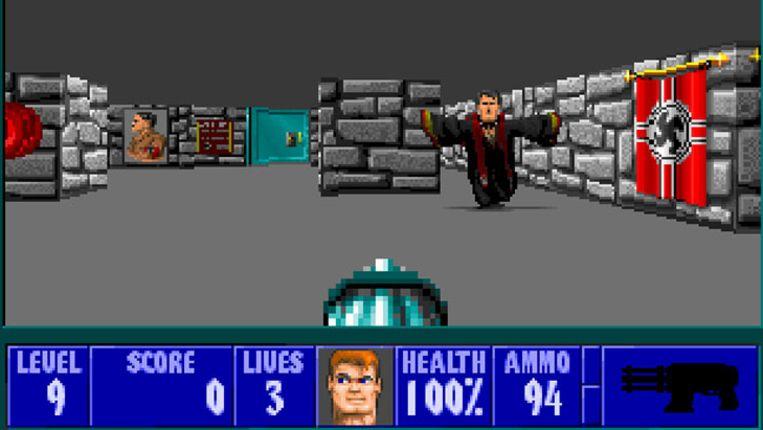 Wolfenstein 3D uit 1992. Beeld kos
