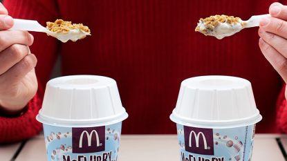 Allen daarheen: McDonald's lanceert McFlurry met gezouten karamel