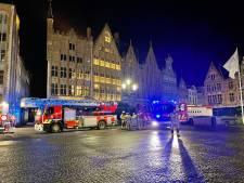 Steekvlam op Brugse Markt blijkt (opnieuw) lamp te zijn