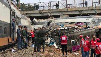 Zeker zes doden en meer dan 70 gewonden bij ontsporing trein in Marokko