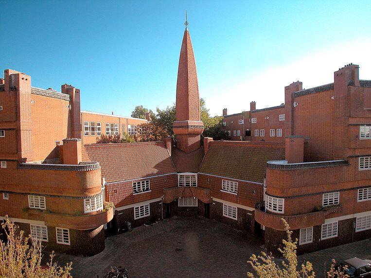 Het Amsterdamse-Schoolmuseum Het Schip, in Amsterdam-West. Beeld