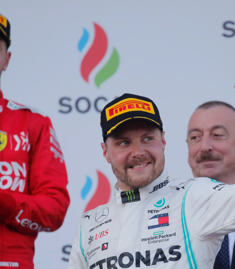 Bottas gagne en Azerbaïdjan et prend la tête du championnat