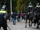 Aanhoudingen bij rellen na NEC-Vitesse; fans ruim 2 uur na wedstrijd eindelijk naar huis