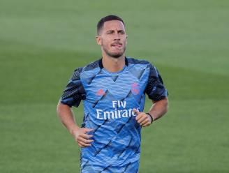 Domper voor Real: Hazard nog niet klaar voor match tegen Real Sociedad