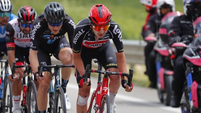 """Kobe Goossens toont zich in Ronde van Italië: """"Op het einde was het vat helemaal leeg"""""""