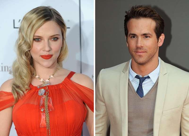 Scarlett Johansson en Ryan Reynolds.