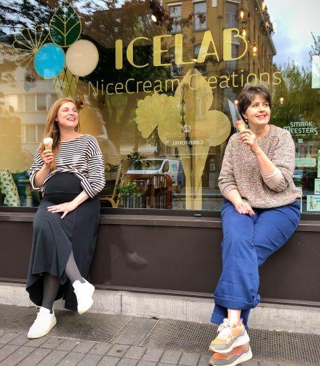 Veganistische ijsjes van IceLab nu ook met de fiets aan huis gebracht