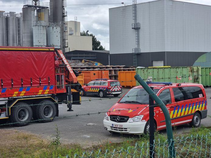Op de terreinen van Nexans in Buizingen stierf een vrachtwagenchauffeur bij een arbeidsongeval.