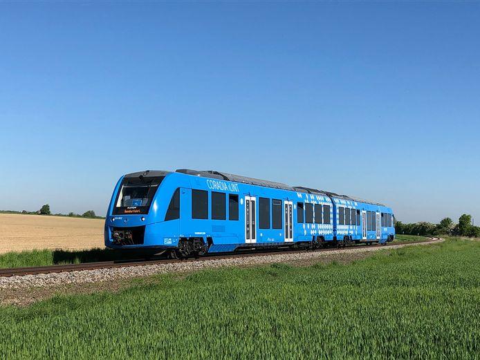 De waterstoftreinen van Alstom zullen in staat zijn om 1.000 kilometer af te leggen op een volle tank waterstof.