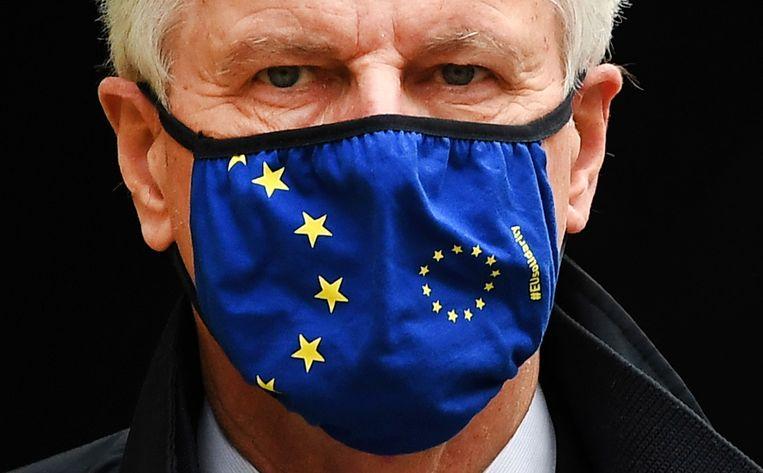 De Europese brexit-onderhandelaar Michel Barnier. Beeld EPA