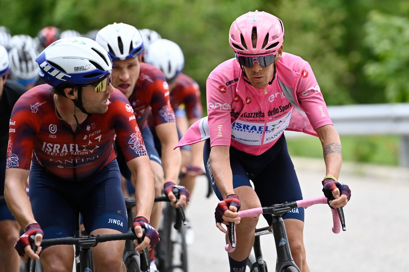 Alessandro de Marchi reed twee dagen in het roze.