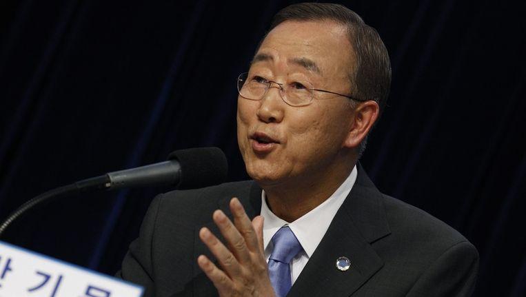 Ban Ki-Moon. Beeld reuters