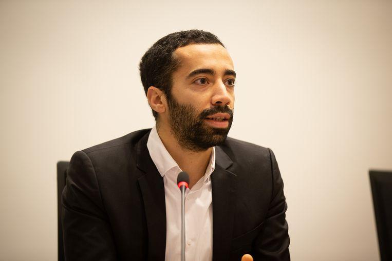 Sammy Mahdi. Beeld BELGA