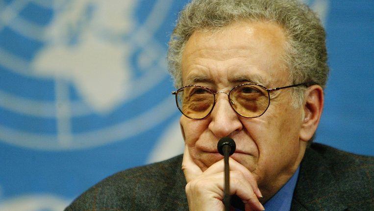 Lakhdar Brahimi. Beeld GETTY