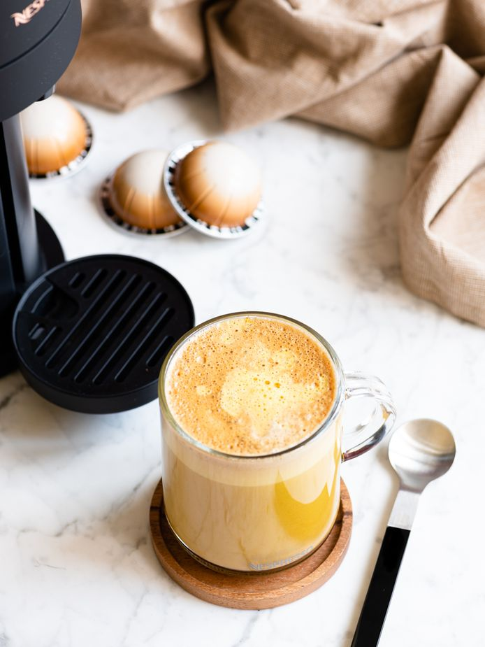 Kopje koffie met een gezonde twist