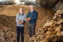 Paul (links) en Henk Brouwer die een biomassacentrale in Zwolle willen laten bouwen.