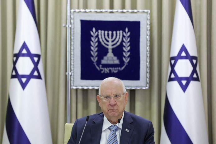 De Israëlische president Reuven Rivlin.
