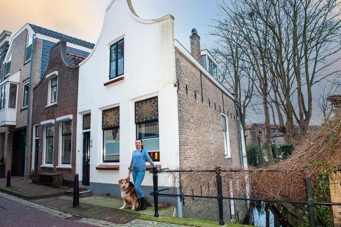 Leonieke en Menno van den Bovenkamp waren op slag verliefd op deze binnenstadswoning aan de Molenwerf in Gouda.