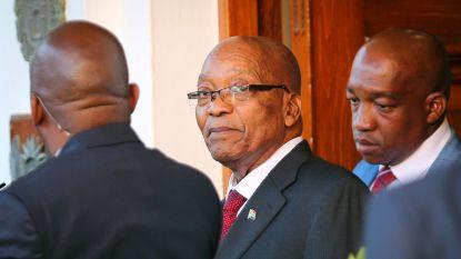 ANC eist officieel vertrek van Zuma, maar stelt geen deadline
