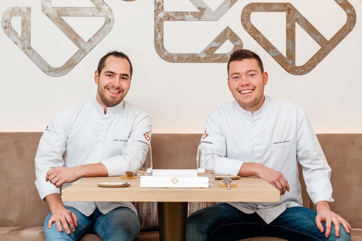 Jean Vrijdaghs et Sébastien Hankard, le duo gagnant du Gastronome.