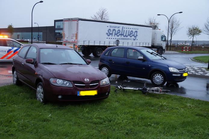 Aanrijding Midden Brabantweg Waalwijk.