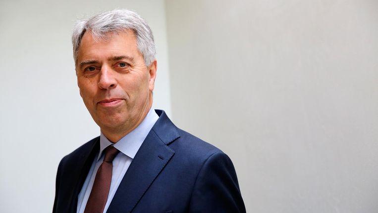 Peter Blom, directeur van de Triodos Bank. Beeld anp