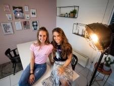Marlou (20) en Daphne (21) uit Raalte willen barrière doorbreken met eigen kledingmerk