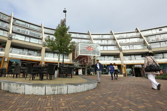 Winkelcentrum Scheepjeshof in Veenendaal.