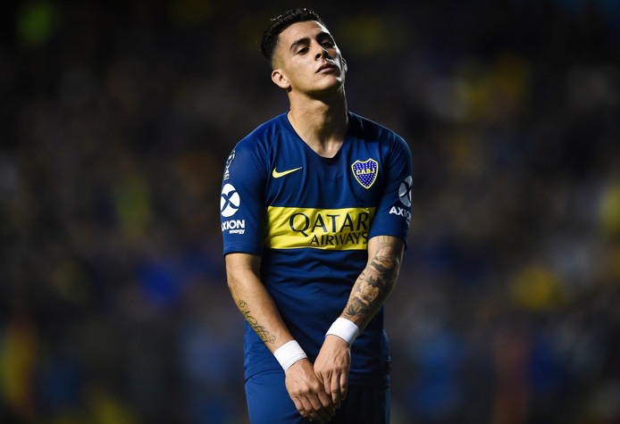 Cristian Pavon kende, mede door blessureleed. een moeizaam seizoen Boca Juniors.