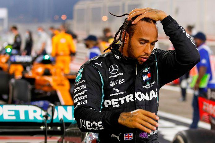 Tout frais septuple champion du monde, Lewis Hamilton est le grand absent du Grand Prix de Sakhir, ce week-end.