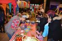 Jong en oud kwamen genieten van het verjaardagsfeestje.