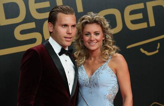 Ruud Vormer en zijn vrouw Roos bij het begin van het Gala.