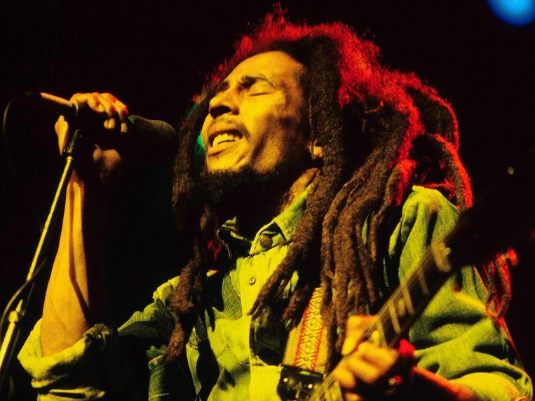 Bob Marley in 1980. Beeld Wikimedia