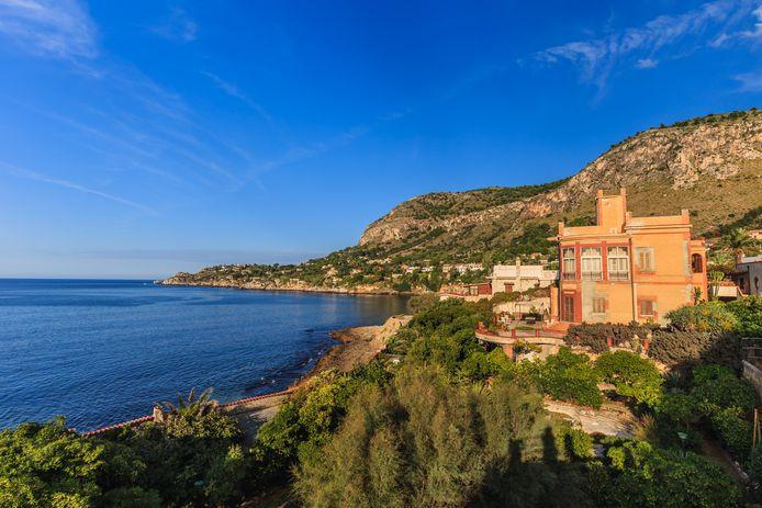 Een beeld van Bagheria (Sicilië).