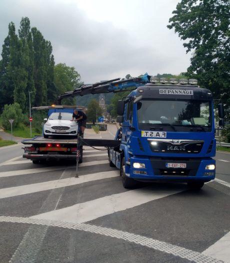 Depannage Lybaert haalt overstroomde wagens op in rampgebied