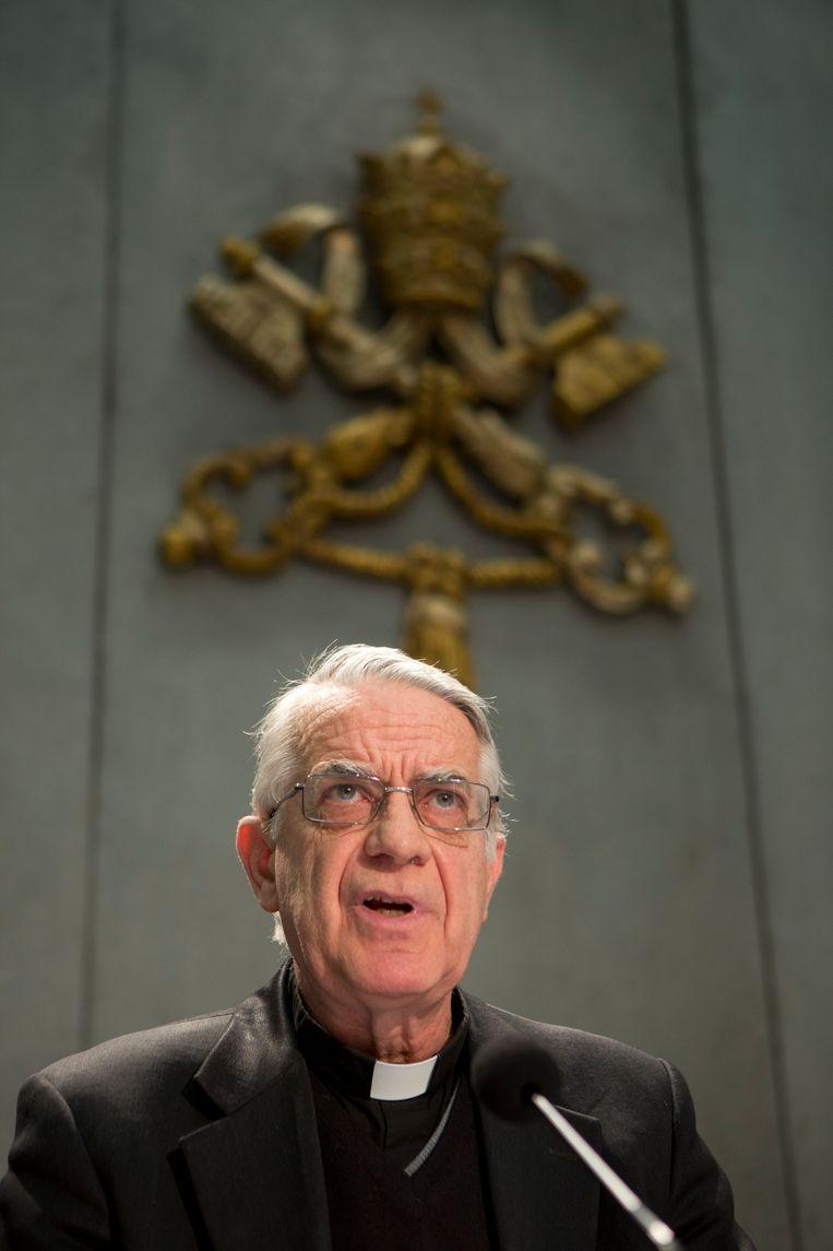 Federico Lombardi Beeld AP