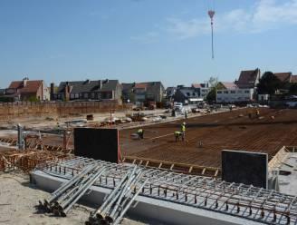 Tweede fase van betonwerken aan parking De Reiger