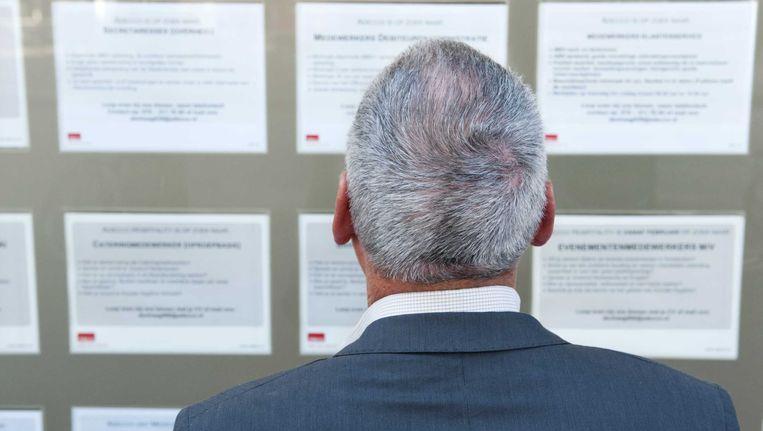 De sollicitatieplicht voor oudere werklozen zou moeten verdwijnen, menen arbeidssocioloog Jan Cremers en CNV. Beeld ANP XTRA