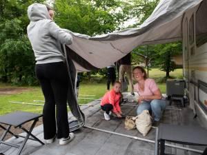 Campinggasten laten kassa's Heuvelrug rinkelen: 'De hele dag in de tent is ook niet leuk'