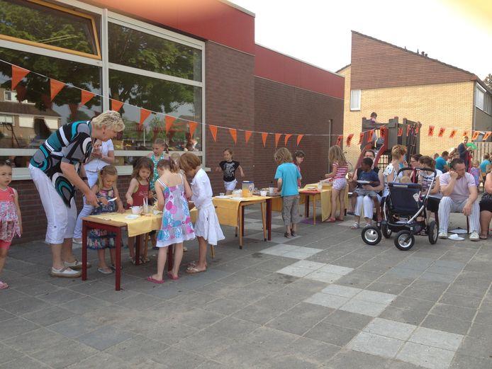 Basisschool De Flierefluiter in Westervoort in 2012. Anno 2021 staat de school leeg.