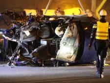 Vier doden bij ongeval op A12 bij Den Haag